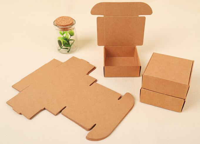 wholesale custom-logo-small-kraft-boxes