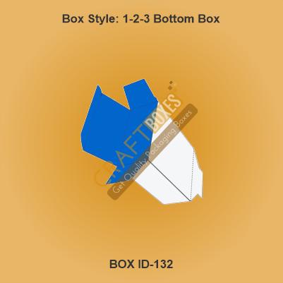 Custom Kraft 1-2-3 Bottom Packaging Boxes