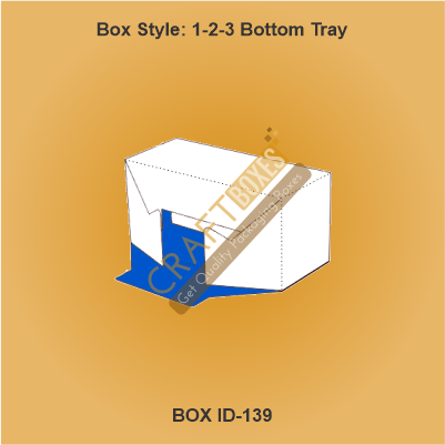 1-2-3 BOTTOM TRAY Packaging Boxes