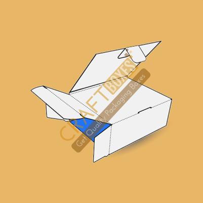 Custom Kraft Bookend Packaging Boxes