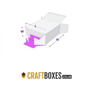 Custom Kraft 1-2-3 Bottom Packaging Boxes