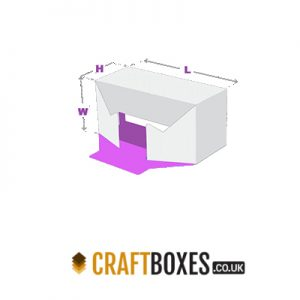 Custom Kraft 1-2-3 Bottom Tray Packaging Box