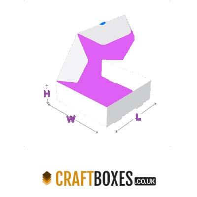 Custom Kraft Double Locked Wall with Lid Box