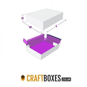 Custom Kraft Double Wall Tray & Lid Boxes
