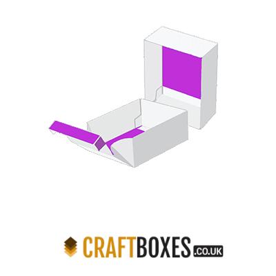 Custom Kraft Double Wall Tray & Lid Packaging Box