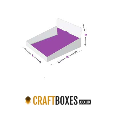 Custom Kraft Double wall display lid Boxes