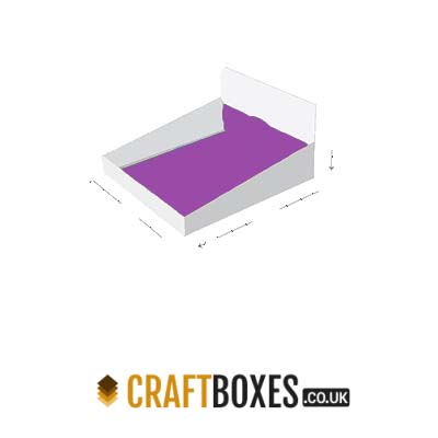 Custom Kraft Double wall display lid Packaging Box