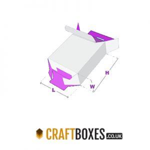 Custom Kraft Five Panel Hanger 123 Boxes