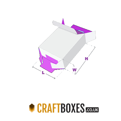 Custom Kraft Five Panel Hanger 123 Boxes