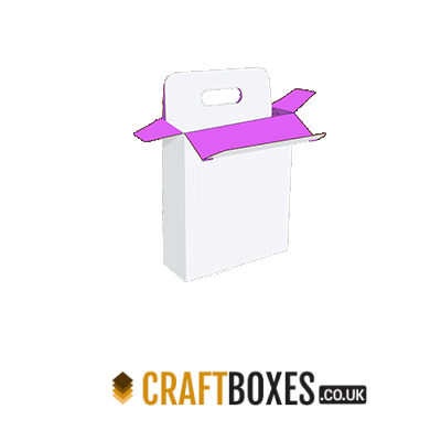 Custom Kraft Five Panel Hanger 123 Packaging Box