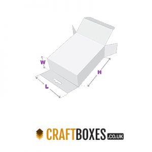 Custom Kraft Five Panel Hanger Boxes