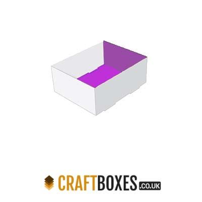 Custom Kraft Foot Lock Tray Foot Boxes