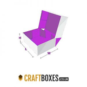 Custom Kraft Four Corner Cake Packaging Box