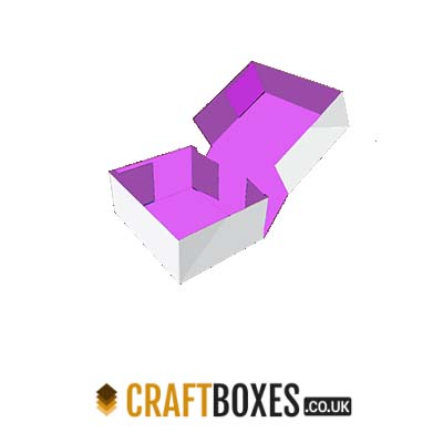 Custom Kraft Four Corner Cake Packaging Boxes