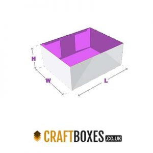 Custom Kraft Four Corner Tray Boxes