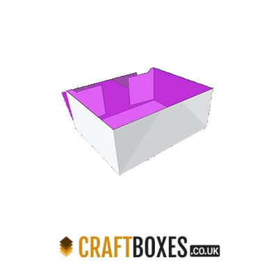 Custom Kraft Four Corner Tray Packaging Box