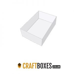 Custom Kraft Full Flat Double Tray Packaging Box