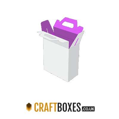Custom Kraft Gable Bag Bottom Packaging Boxes
