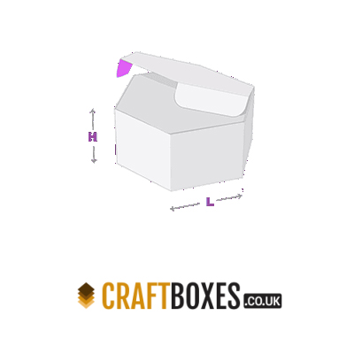 Custom Kraft Hexagon Packaging Boxes