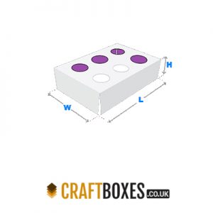 Custom Kraft Punch Partition Boxes