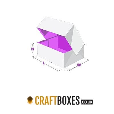 Custom Kraft Regular Six Corner Boxes