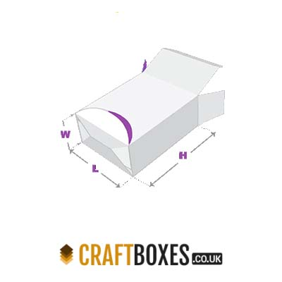Custom Kraft Tuck End Dispenser Packaging Box