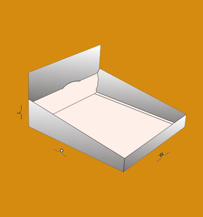 Double wall display lid Boxes