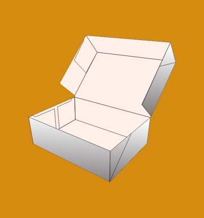 Four Corner Cake Boxes 1