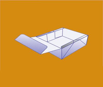 Four Corner Lid Display Box