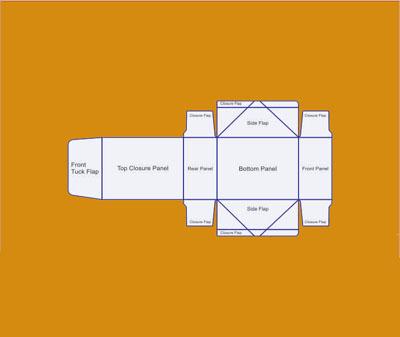 Four Corner Lid Display Boxes 1