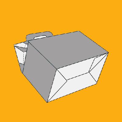 Gable Bag Bottom Boxes