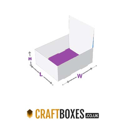 Kraft Double wall tuck top Packaging Boxes