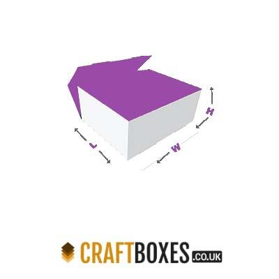 Kraft Foot Lock Tray Foot Packaging Boxes