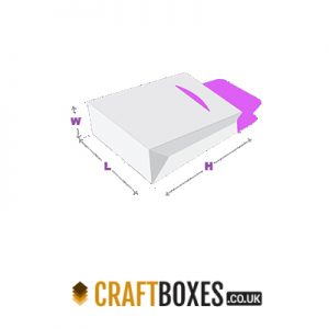 Kraft Gable Bag Tuck End Boxes