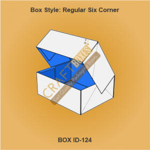 Regular Six Corner Packaging Boxes