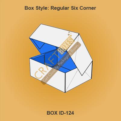 Regular Six Corner Packaging Boxes