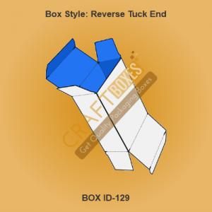 Custom Kraft Reverse Tuck End Boxes