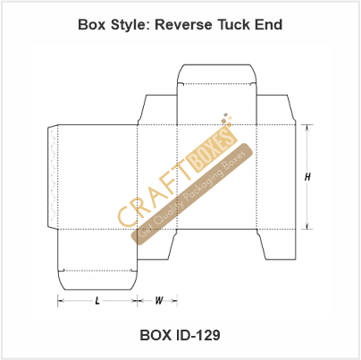 Custom Kraft Reverse Tuck End Boxes