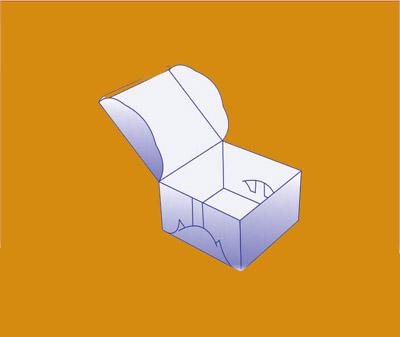 Self-Lock Cake Packaging Box