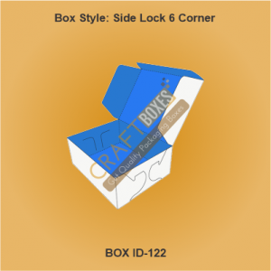 Side Lock 6 Corner Side Packaging boxes
