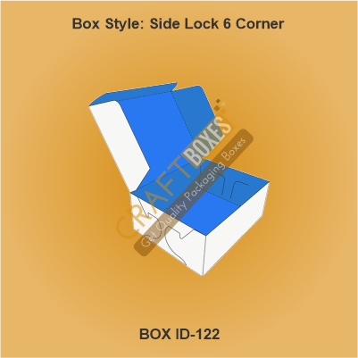 Side Lock 6 Corner Side Packaging boxes