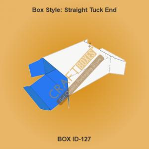 Custom Kraft Straight Tuck End Boxes