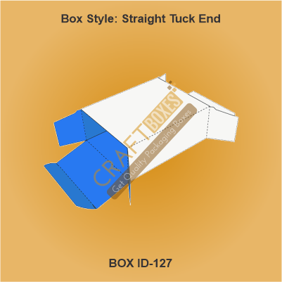 Custom Kraft Straight Tuck End Boxes