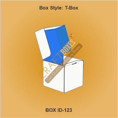 Custom Kraft T-Boxes
