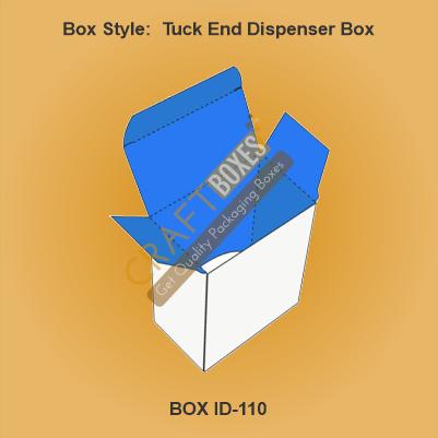 Tuck End Dispenser Boxes