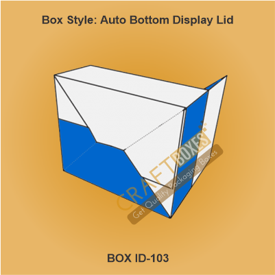 Auto Bottom with Display Lid