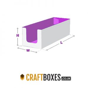 Custom Kraft Auto Bottom Tray Style Packaging Box