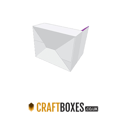 Custom Kraft Auto Bottom with Display Lid Packaging Box