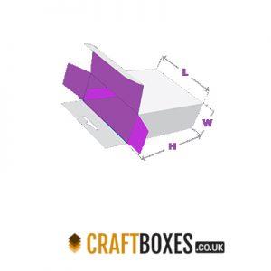 Custom Kraft Five Panel Hanger Auto Boxes