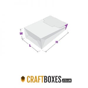 Custom Kraft Gable Boxes Auto Bottom Boxes